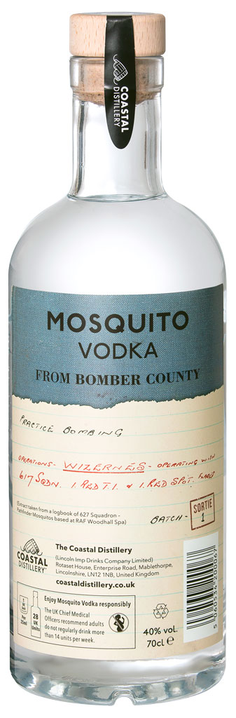 Mosquito Vodka rear