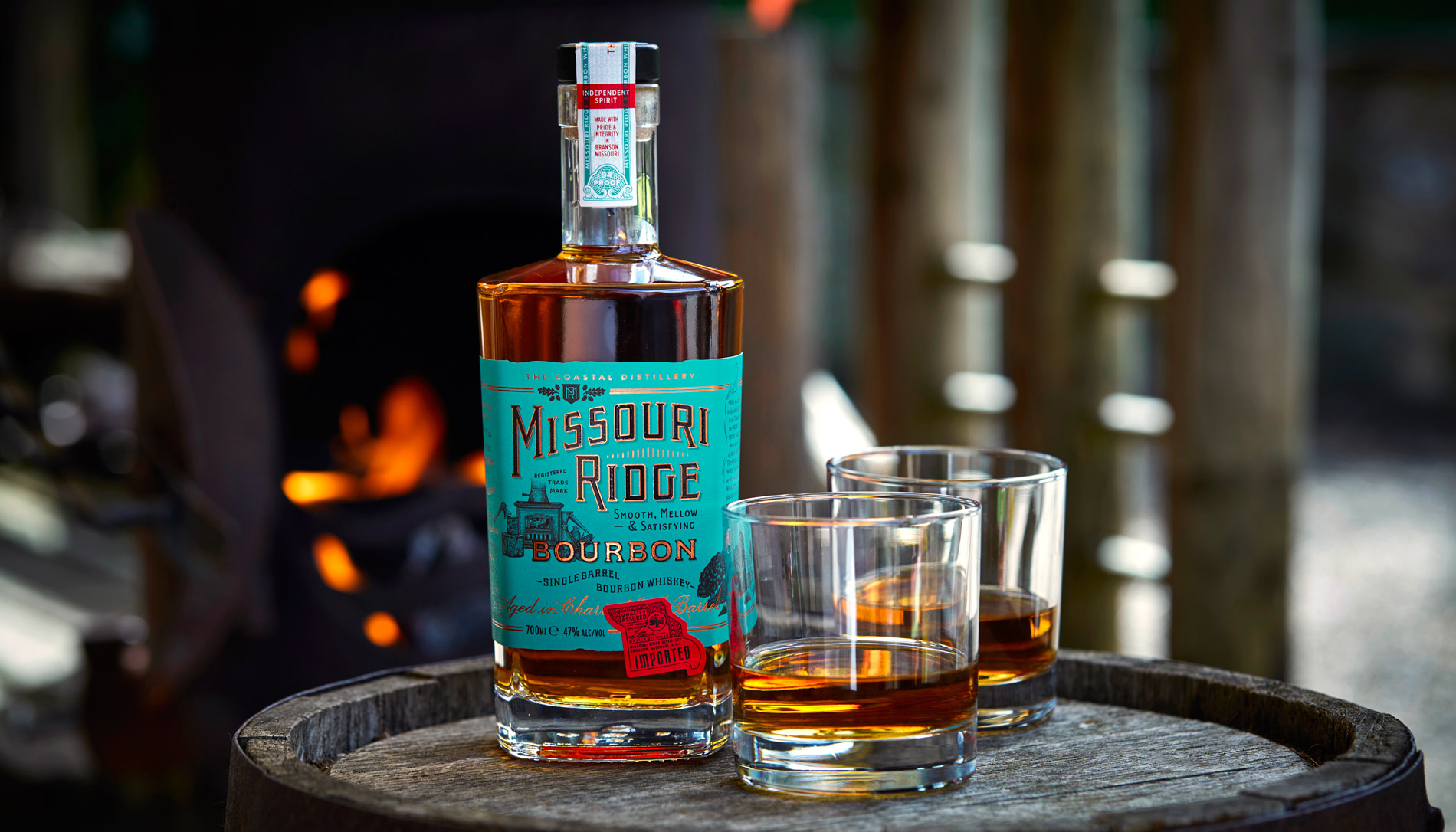Missouri Ridge Bourbon Whiskey
