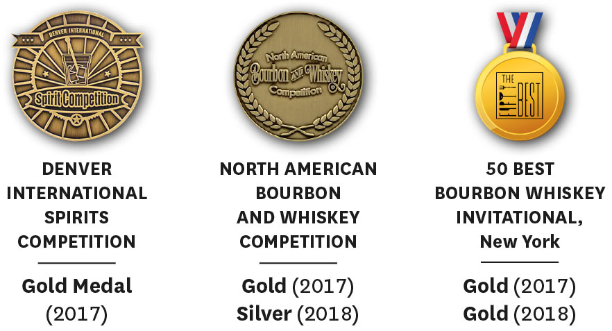 Missouri Ridge Bourbon Awards